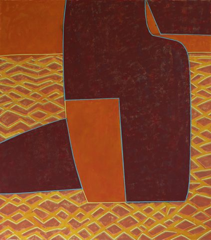 Richard Keen abstract painting
