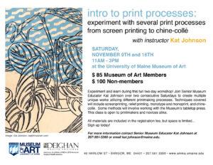 poster for print workshop