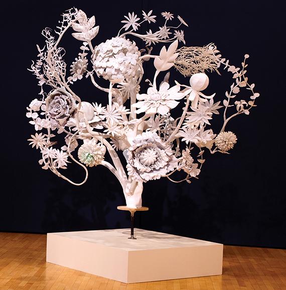 Chlorophylia sculpture by JoAnne Carson